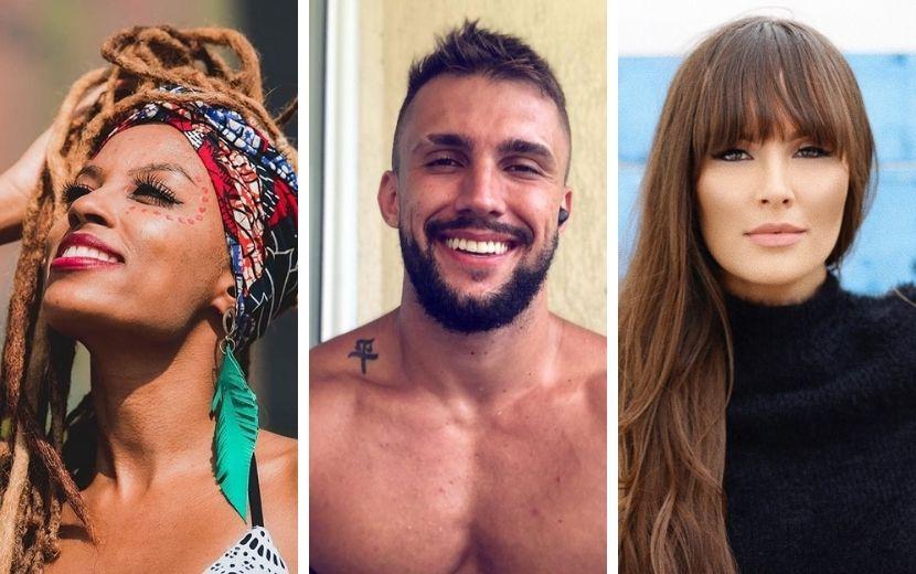 """BBB21: conheça os perfis do Instagram dos participantes do grupo """"Pipoca"""""""