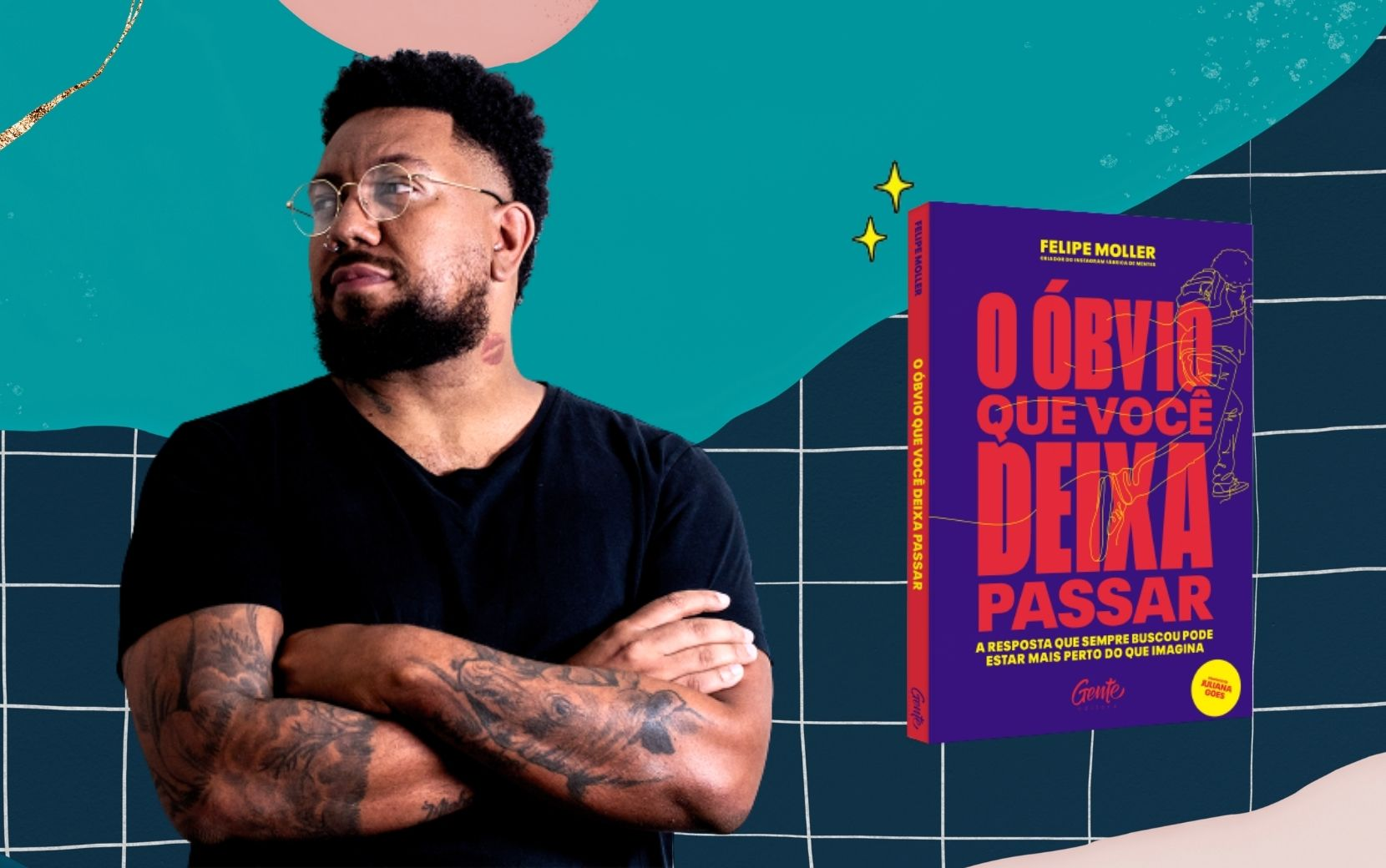 Entrevista: Felipe Moller, criador do Fábrica de Mentes, fala sobre a importância do reconhecimento do sucesso de pessoas negras em seu novo livro