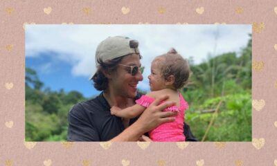 Chay Suede compartilha clique com a filha e derrete coração de internautas!