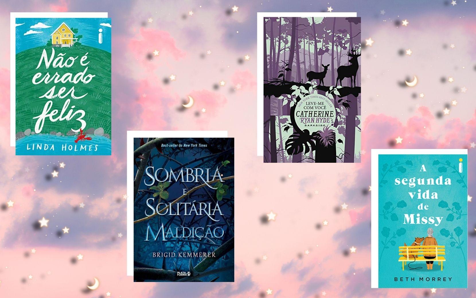 Cantinho Literário Todateen: 4 livros para ler em fevereiro