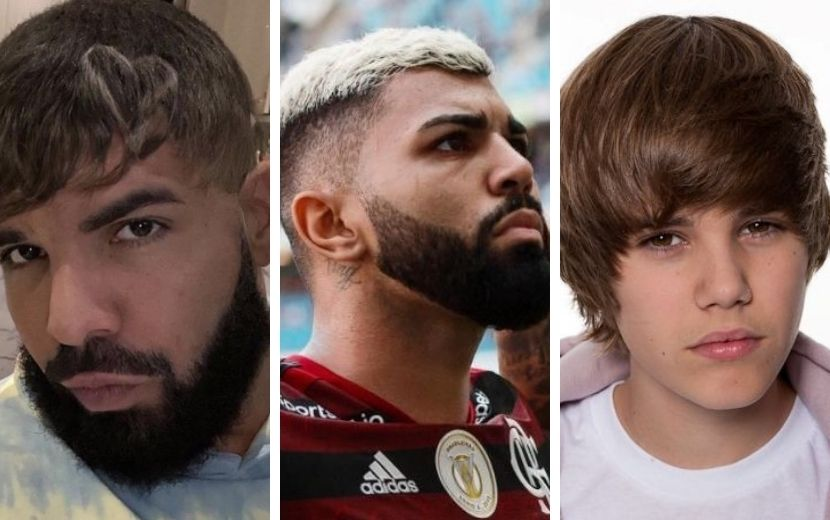 Drake vira piada após novo corte de cabelo e é comparado a Justin Bieber e Gabigol