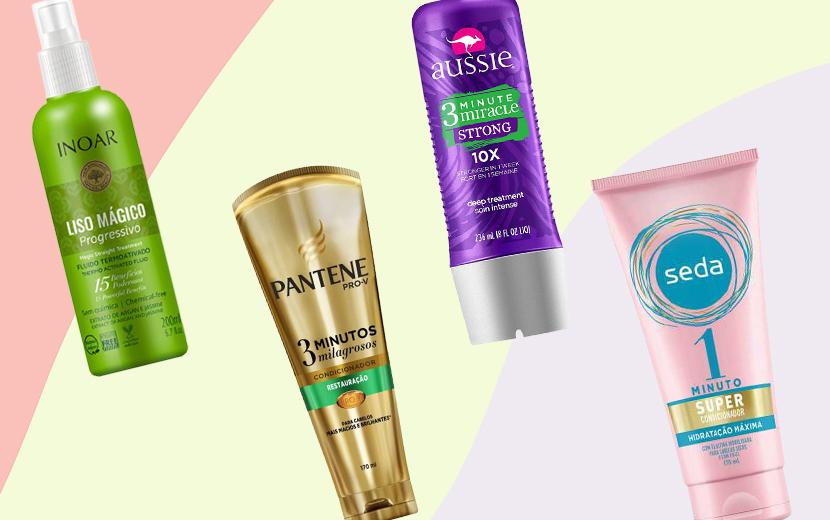 7 produtos que vão te ajudar a cuidar do cabelo de maneira rápida e eficaz