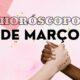 Horóscopo de março: céu pede atenção para temas sociais e reflexão sobre efetividade do cancelamento