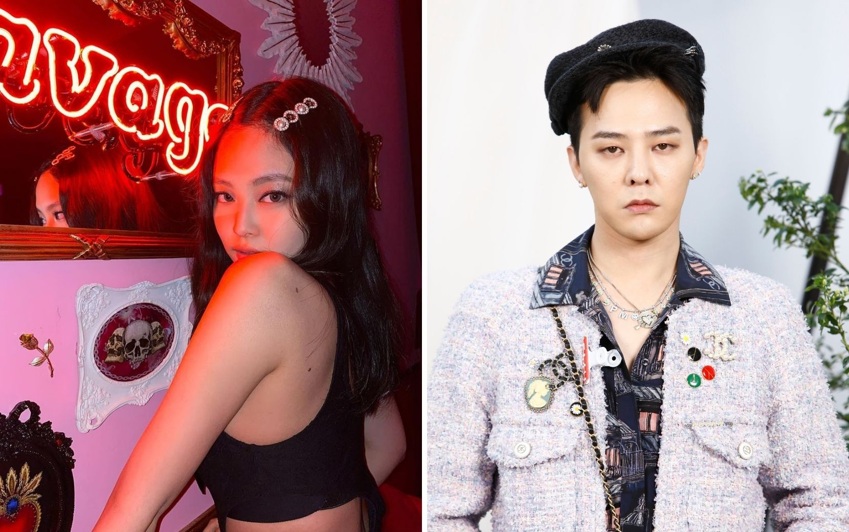 Jennie, do Blackpink, pode estar em um relacionamento com G-Dragon, do Big Bang