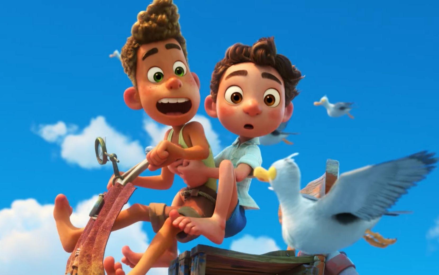 """""""Luca"""": aventuras mágicas na Itália marcam o primeiro trailer da nova animação da Pixar"""