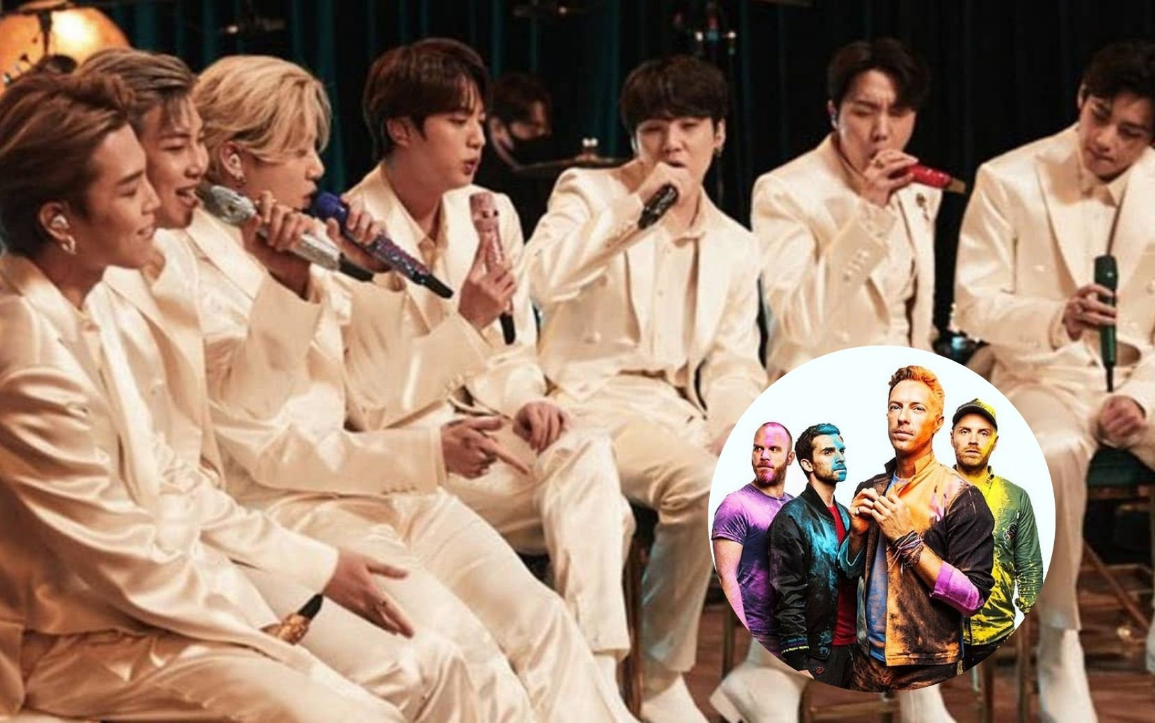 "BTS faz cover de ""Fix You"" e Coldplay reage; vem ver!"