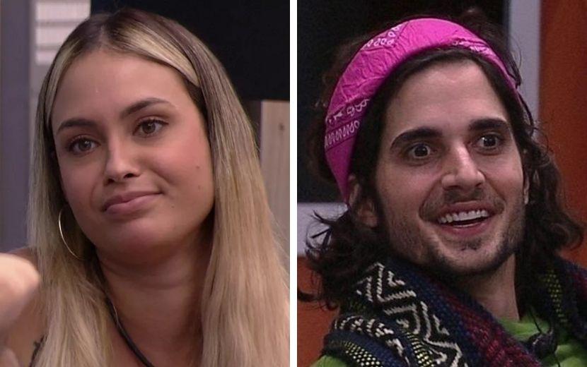 """BBB21: Sarah fala sobre comportamento de Fiuk: """"Está perdido nesse jogo aqui"""""""