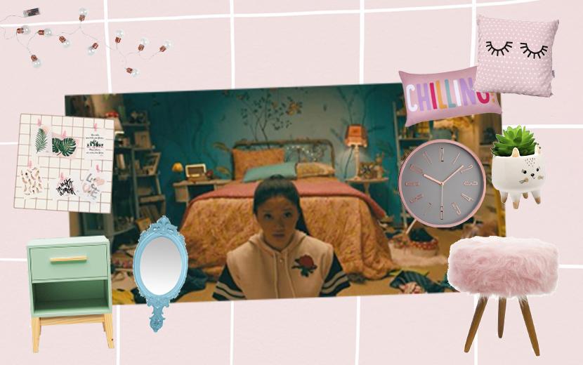 Estilo retrô e colorful: arquiteta dá dicas para se inspirar no quarto de Lara Jean
