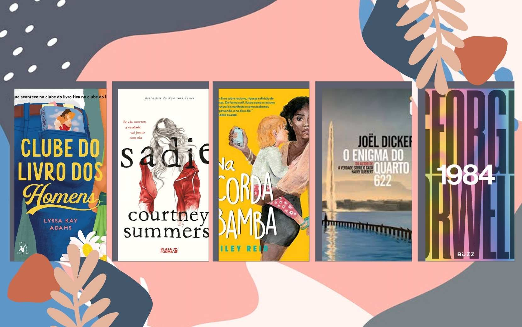 Cantinho Literário Todateen: 5 indicações de livros para o mês de março