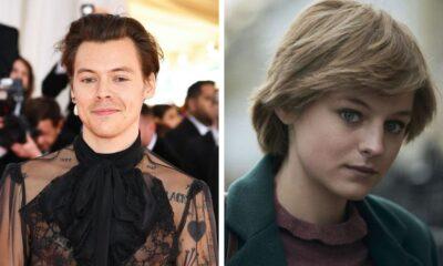 """Harry Styles e Emma Corrin, a Lady Di em """"The Crown"""", estrelam novo filme de drama; saiba mais"""