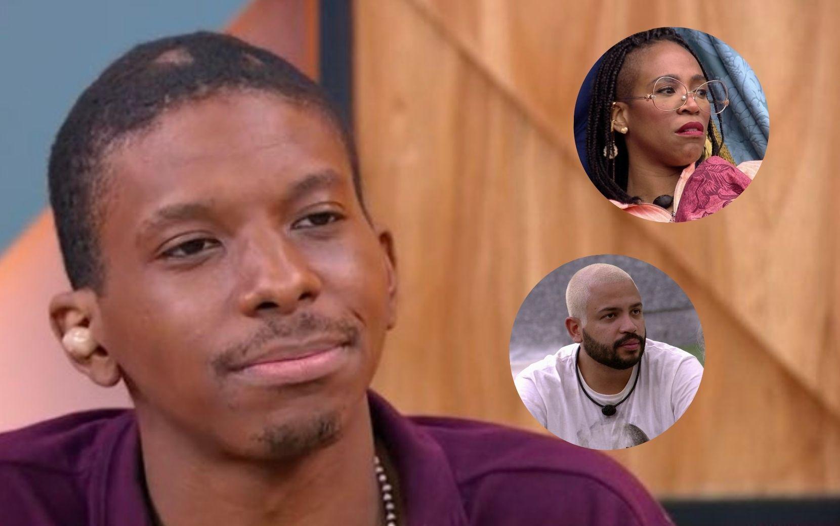 BBB21: no Encontro, Lucas revela mágoa com Nego Di e se recusa a falar de Projota e Karol