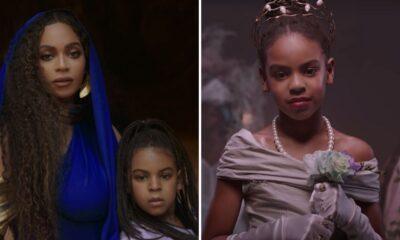 """Grammy 2021: com apenas 9 anos, Blue Ivy é premiada com Beyoncé e WizKid por """"Brown Skin Girl"""""""