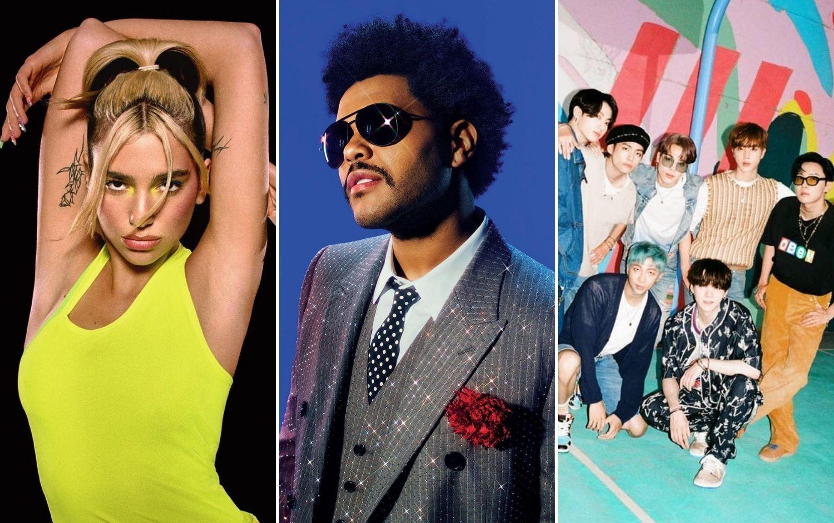 Dua Lipa, The Weeknd, BTS e mais: confira a lista completa de indicados ao BRIT Awards 2021