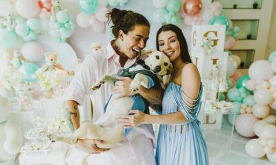 Durante chá revelação, Maria Lina e Whindersson Nunes ficam noivos!