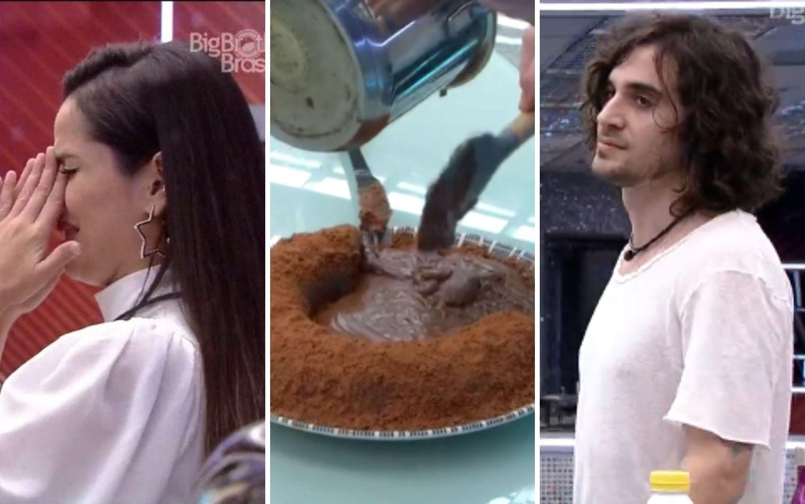 """Fiuk briga com Juliette por calda de bolo, Camilla de Lucas manda shade: """"Eu quero briga relevante"""""""