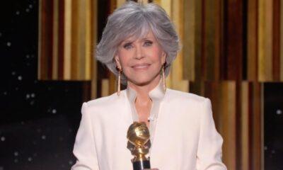 """Em discurso crítico ao Globo de Ouro 2021, Jane Fonda cita a ausência de """"I May Destroy You"""""""