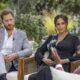 """Meghan Markle diz que família real se preocupava sobre """"quão escura"""" seria a pele do filho com Harry"""