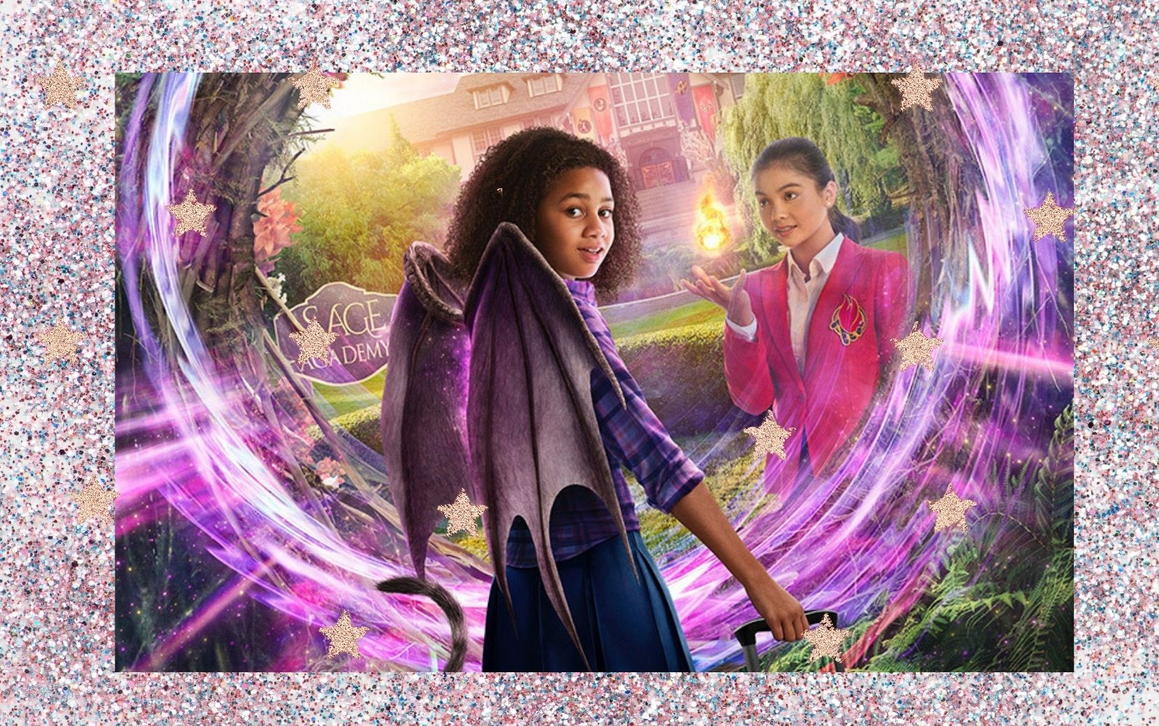 """Upside Down Magic - Escola de Magia"": Izabela Rose e Siena Agudong revelam os desafios de protagonizar a nova aposta de fantasia do Disney Channel"