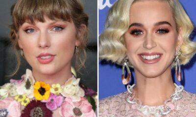 """Katy Perry especula colaboração musical com Taylor Swift: """"Já imaginou?"""""""