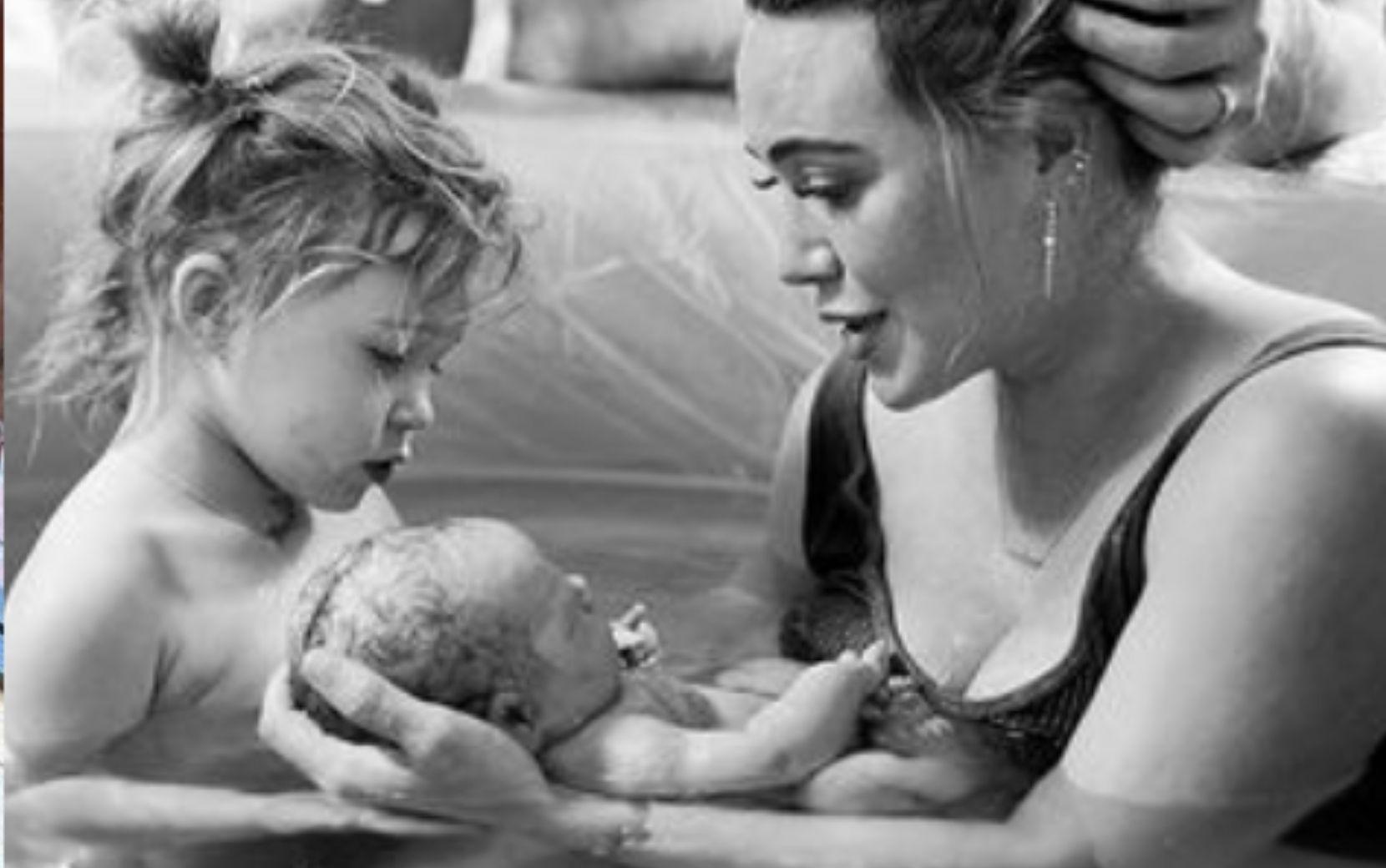 "Nasce terceira filha de Hilary Duff: ""Te amamos"""