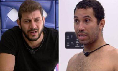 """BBB21: Caio critica postura de Gilberto: """"Paciência minha também tem limite"""""""