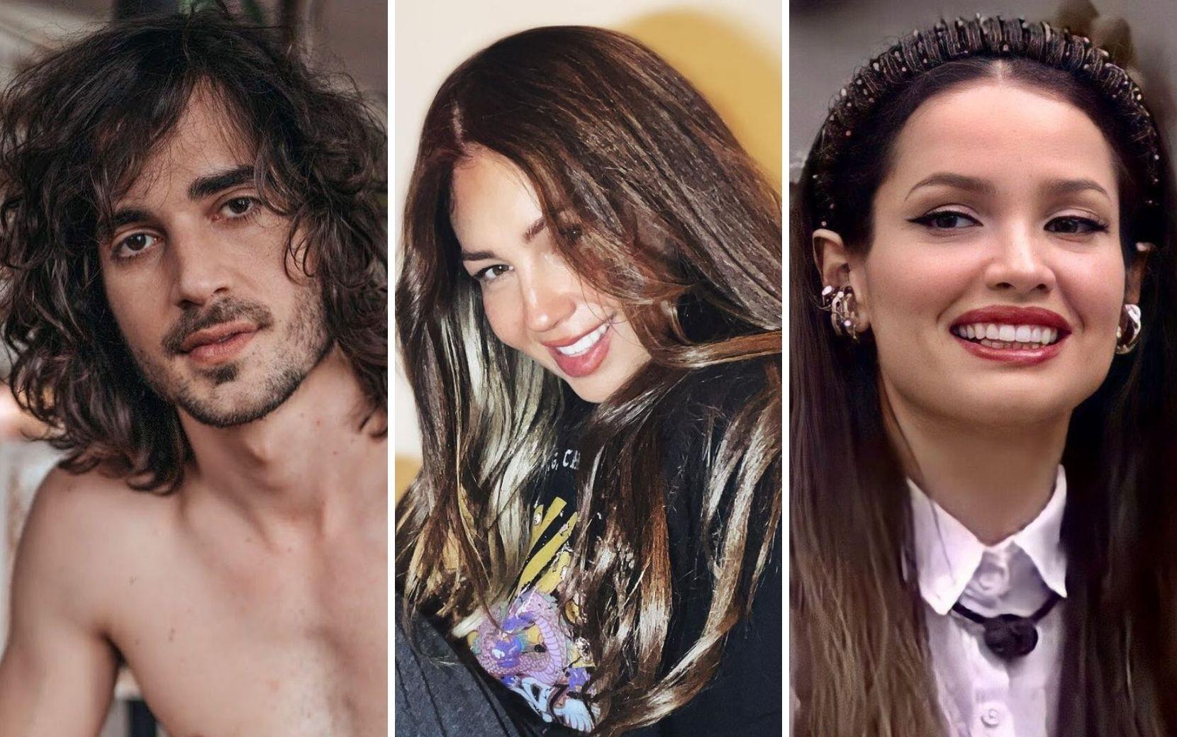 BBB21: Fiuk e Juliette falam sobre Thalia e cantora reage com elogios