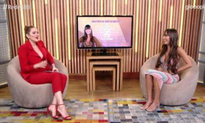 Em entrevista com Ana Clara, Thaís descobre choro de Fiuk após troca de carinhos