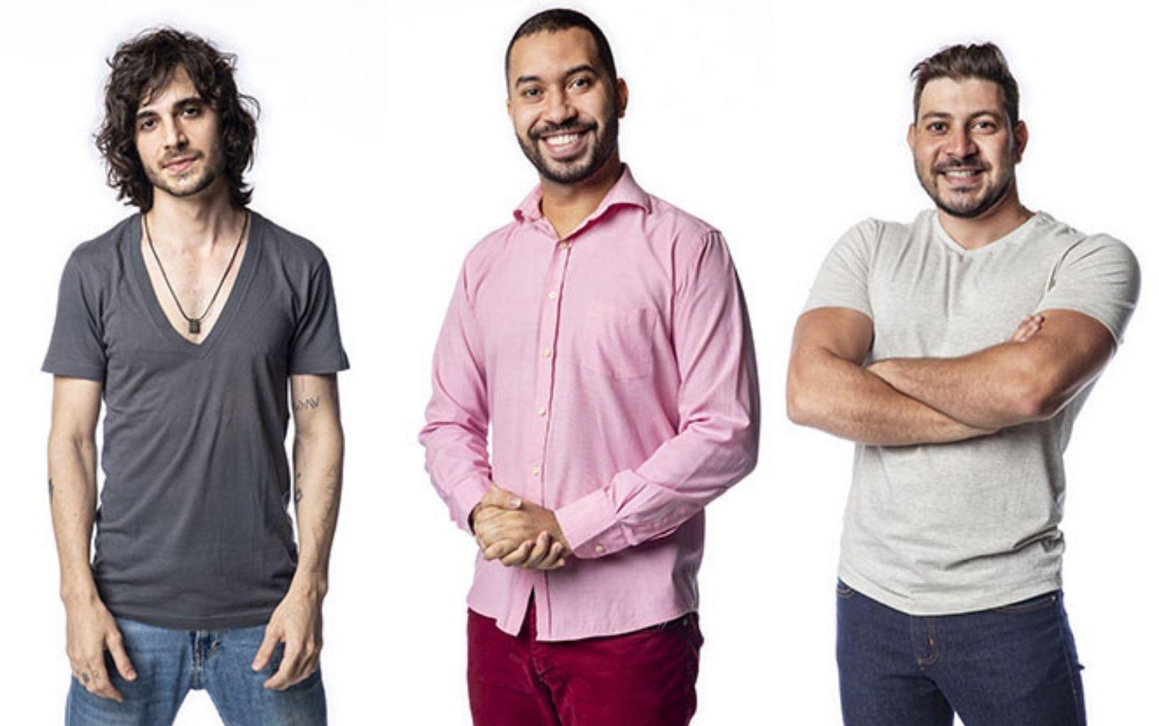 Caio, Fiuk ou Gilberto: quem sairá deste paredão?