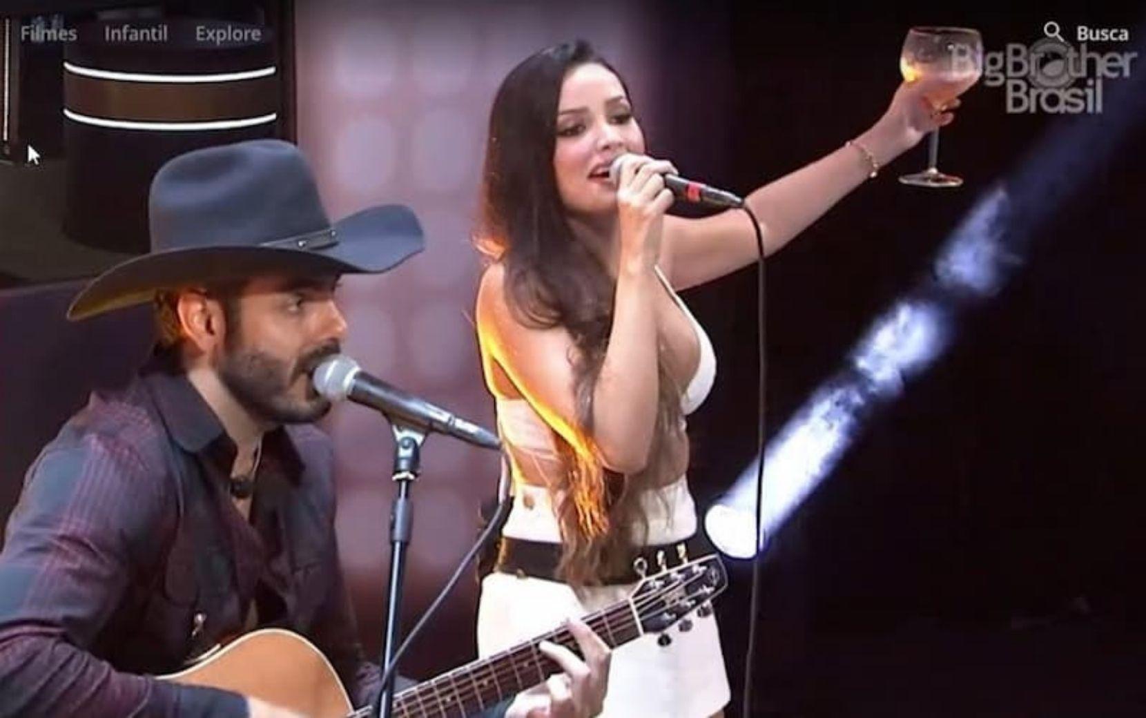 """Durante """"Mesa BBB"""", Rodolffo afirma que pretende fazer parceria musical com Juliette"""