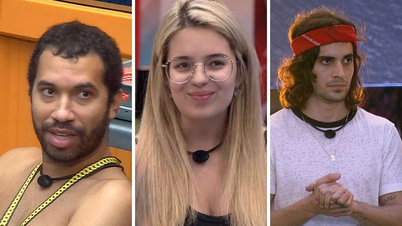 BBB21: Gil, Fiuk e Viih Tube estão emparedados; confira os votos