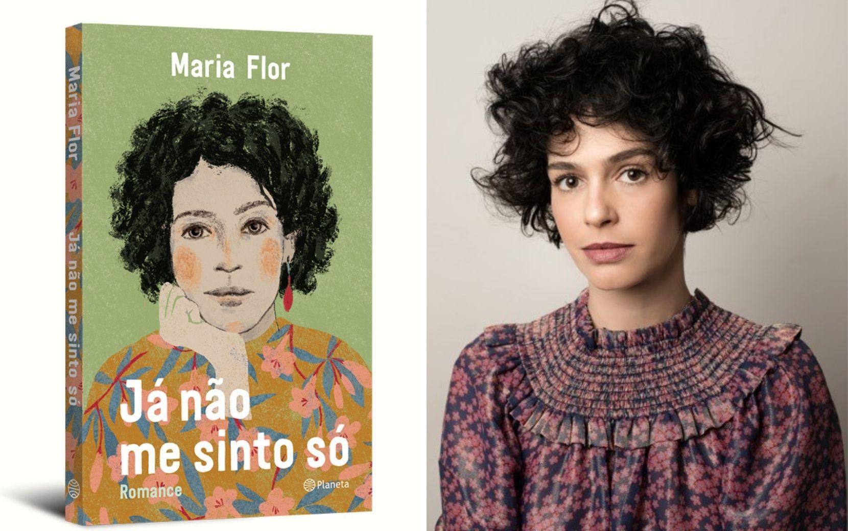 """""""Já não me sinto só"""": Maria Flor explora jornada de autoconhecimento em romance de estreia"""