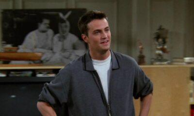 """Matthew Perry publica foto nos bastidores da reunião de """"Friends"""" e apaga logo em seguida"""