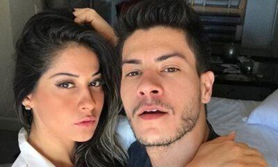 "Dias após reatar com Arthur Aguiar, Mayra Cardi anuncia término: ""Quero me curar de tudo"""