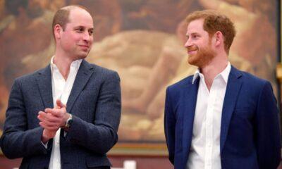 Príncipe Harry e Príncipe William são vistos juntos no funeral de Philip após um ano separados