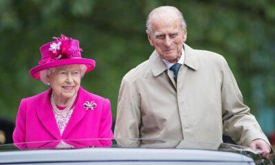 """Rainha Elizabeth II se despede de Príncipe Philip em funeral e imagem emociona web: """"De partir o coração"""""""