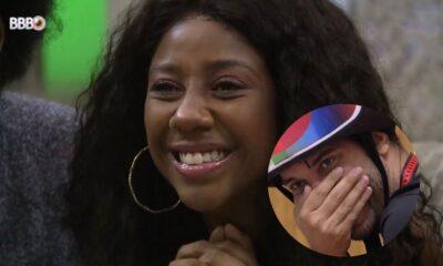 "BBB21: Gilberto comenta sobre irmão de Camilla de Lucas no almoço do anjo: ""Bonito"""