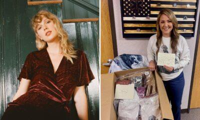 Taylor Swift envia presentes para fã que trabalha na linha de frente no combate ao coronavírus