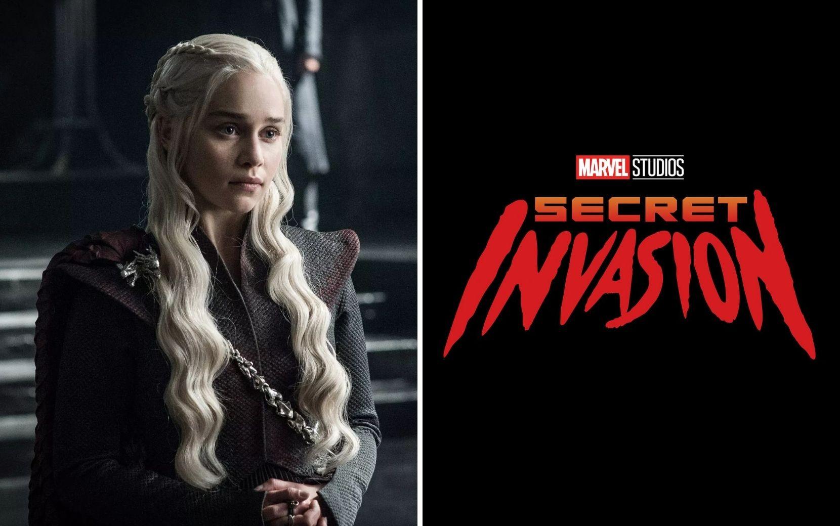 """Emilia Clarke entra para elenco de """"Invasão Secreta"""", nova série da Marvel"""