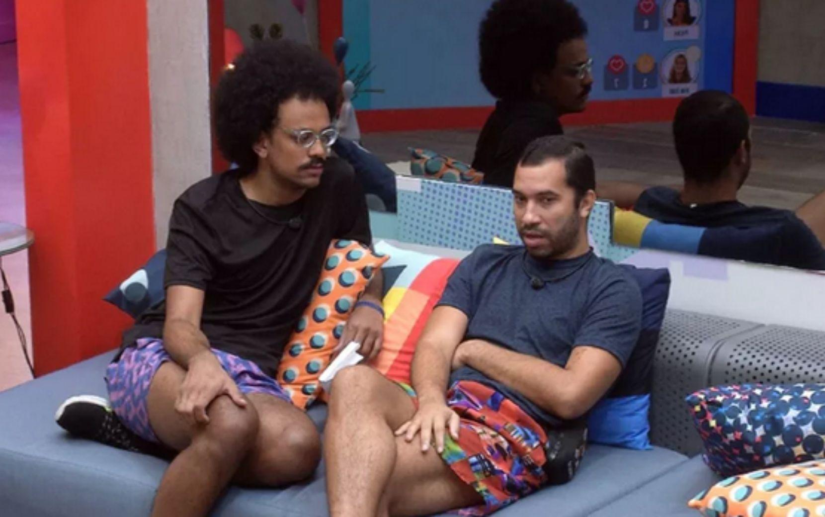 João Luiz e Gilberto revelam estratégias e indicações ao paredão
