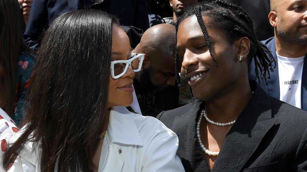 A$AP Rocky assume relacionamento com Rihanna Amor da minha vida
