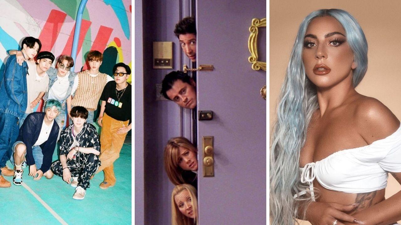 """BTS, Lady Gaga e mais: confira todos os convidados do especial de """"Friends"""""""