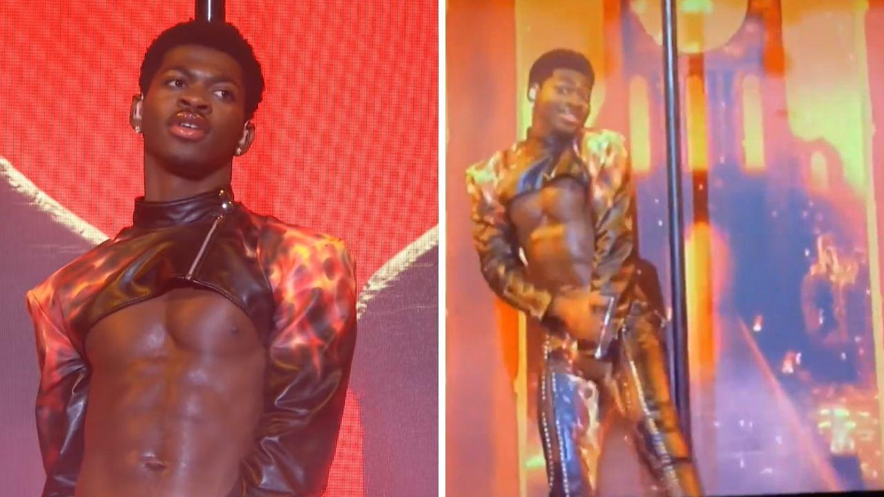 Lil Nas X marca presença poderosa (e rasga calça!) em apresentação no SNL - assista!