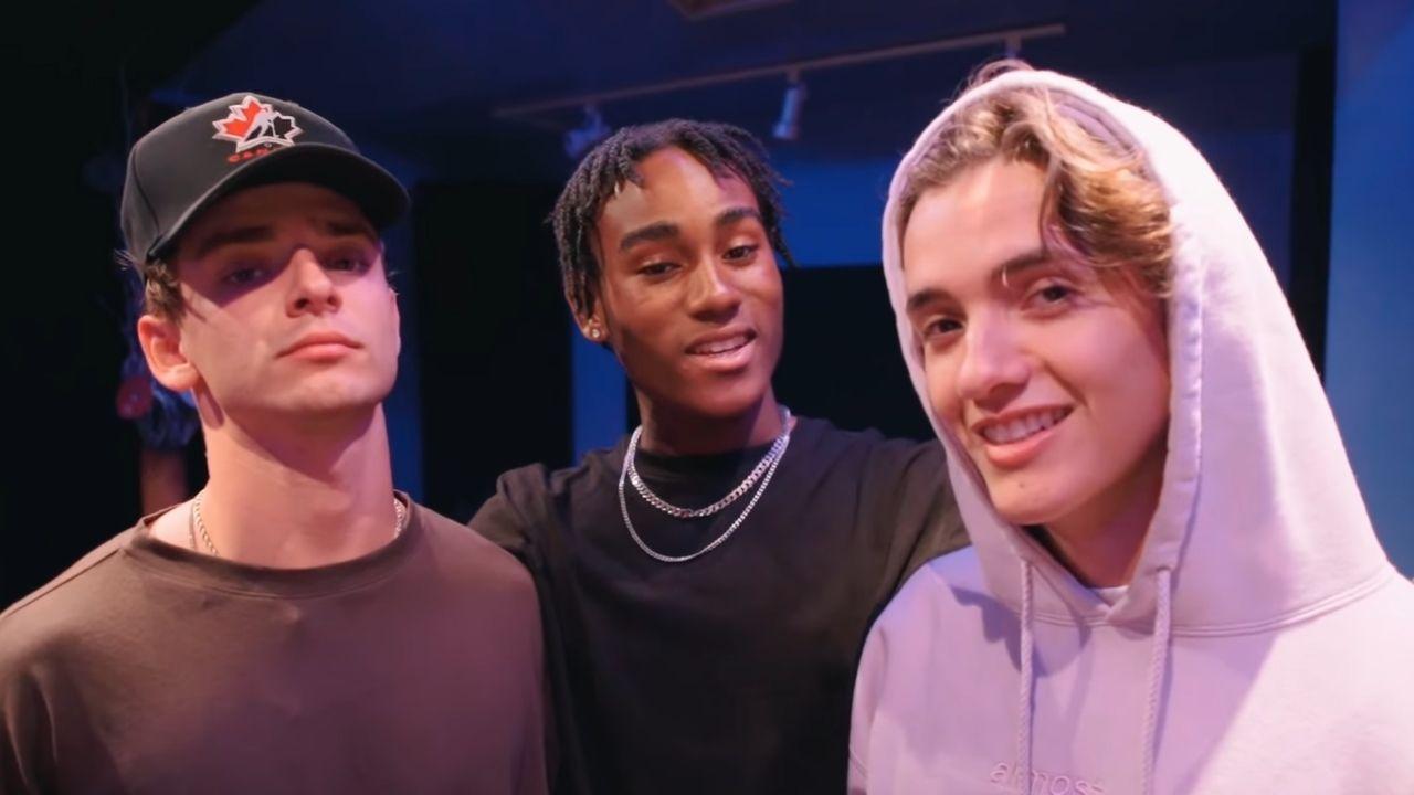 Now United mostra trecho de música feita por Noah Urrea, Josh Beauchamp e Lamar Morris