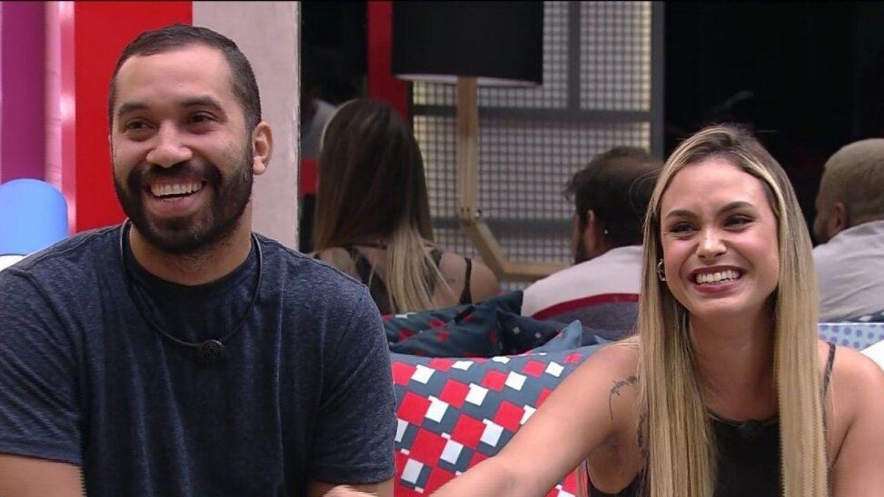 Sarah e Gilberto se reencontram fora do BBB21