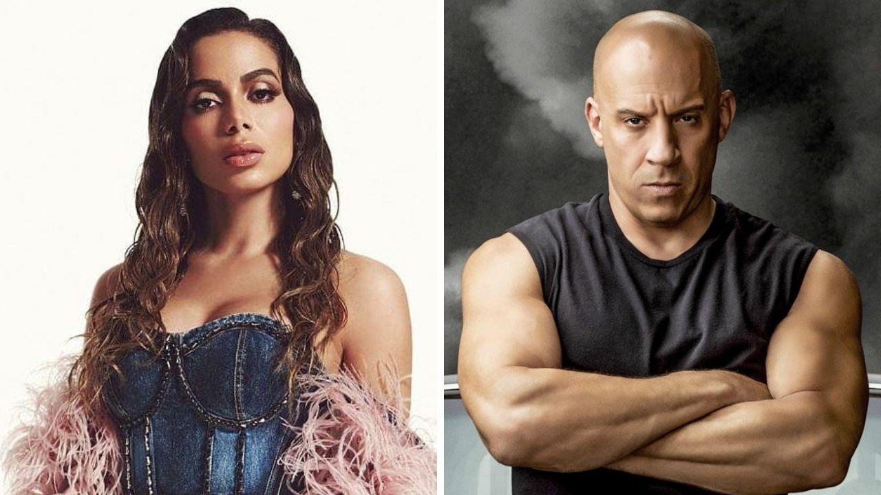 """Anitta aparece em fotos com Vin Diesel após confirmar música em """"Velozes e Furiosos 9"""""""