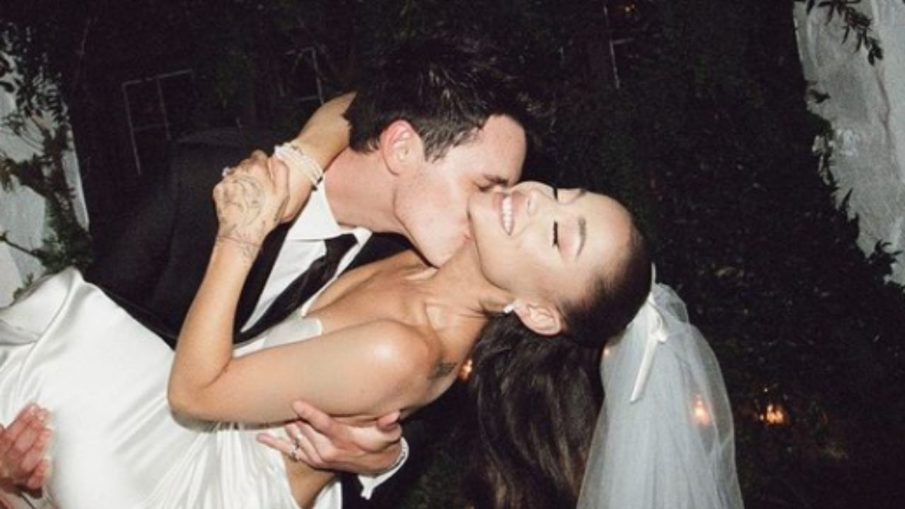 Ariana Grande ganhou o presente de casamento mais inusitado que você vai ver; confira