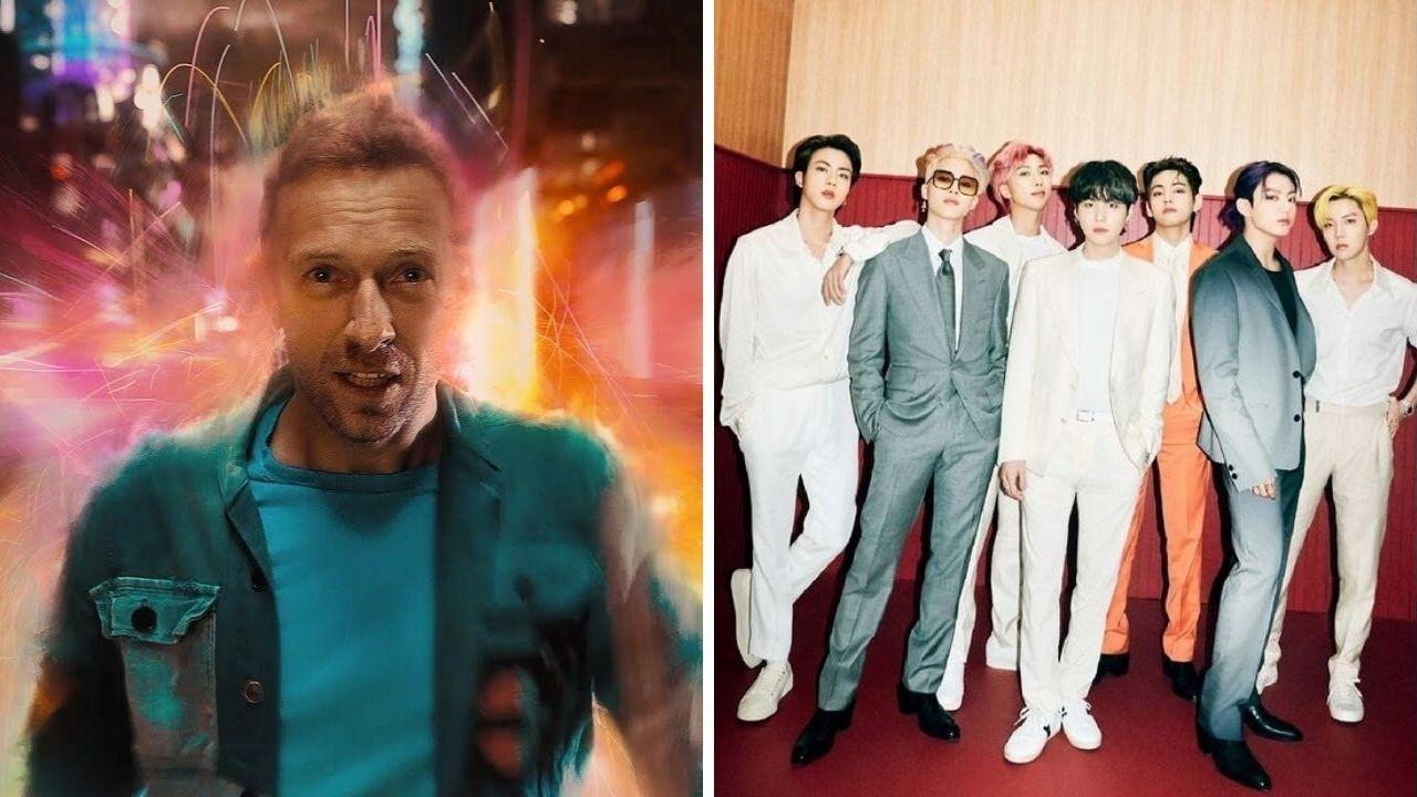 """Chris Martin, do Coldplay, fala sobre possível parceria com BTS: """"Nunca negaria"""""""