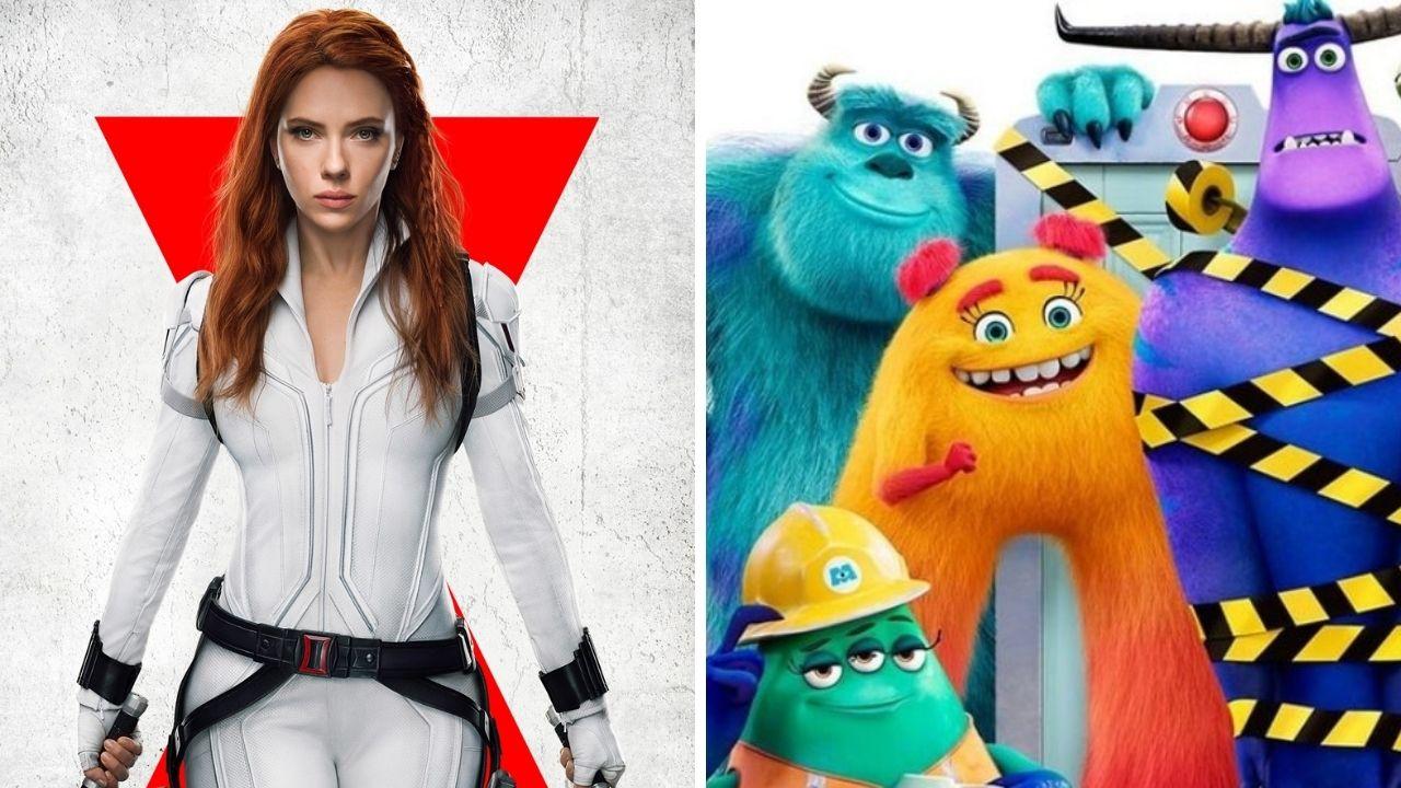 """""""Viúva Negra"""", """"Monstros no Trabalho"""" e mais: confira as estreias de julho no Disney+"""