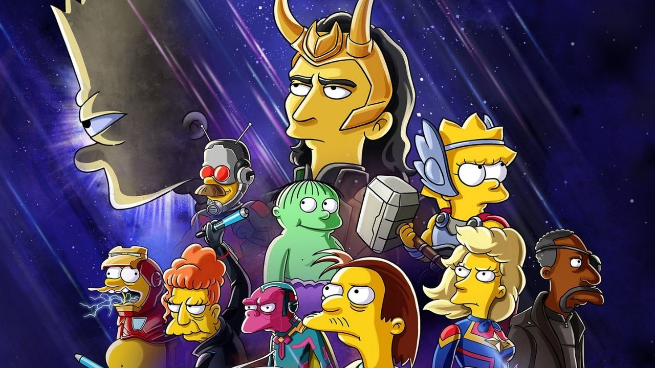 """Disney+ anuncia crossover entre """"Os Simpsons"""" e """"Loki"""" em curta-metragem; saiba mais"""