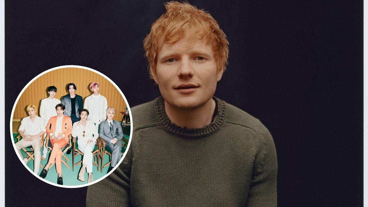 Ed Sheeran revela participação em música de BTS